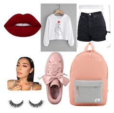 """""""Untitled #26"""" by camccullagh on Polyvore featuring ASOS and Herschel"""