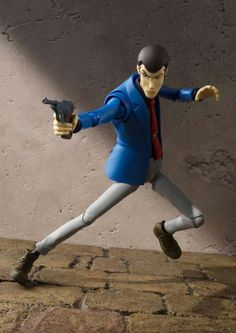 LUPIN 3rd III Figur Action ARSENIO Lupin 15cm Bandai SHF Figuarts FIGURE Japan