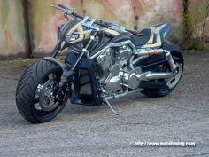 Tuning : HD V-rod by Tecno Bike - Custom - Harley-Davidson - Tuning . Harley Davidson Custom Bike, 2014 Harley Davidson, Harley Davidson Street Glide, Harley Davidson Motorcycles, Best Motorbike, Motorcycle Bike, Motorcycle Design, Custom Harleys, Custom Bikes