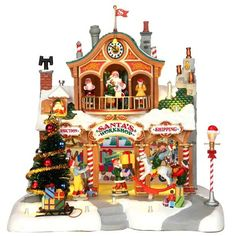 Lemax Village Collection Santa's Workshop #35558 - House of Holiday