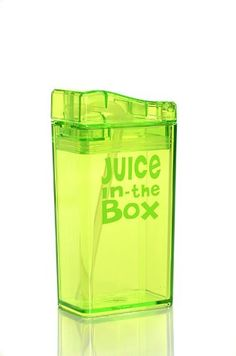 Juice in the Box - pour in your own juice and save the planet!