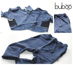 Buboo Stylish set POCKET SS15 blueberry. Stylish Kids Clothes, Stylish Kids, Buboo style, Kids Fashion, Toddler Clothes.