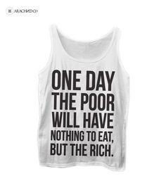 Capitalism Revolution Awareness Political Shirt
