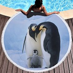 6b5904f5191a7 Gym Mats, Towel Warmer, Mat Exercises, Camping With Kids, Swimsuit Cover, Beach  Towel, Penguins, Towels, Beach Blanket