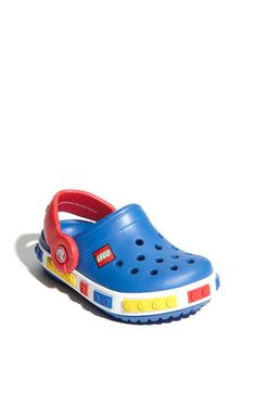 Can't wait for these to arrive! Dylan loves Crocs and Legos :)  CROCS Lego Edition at Nordstrom