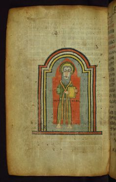 https://flic.kr/p/a4RyLh   Ethiopian Gospels, Portrait of Evangelist Mark, Walters Manuscript W.836, fol. 79v   This Gospel book was written in Tǝgray, Northern Ethiopia, in the early fourteenth century, and was once owned by the church of St. George in Däbrä Mä'ar. It is written by the scribe Mäṭre Krǝstos in the official liturgical language of Ethiopia, Gǝ'ǝz. Most notable is its prefatory image cycle, which makes references to holy places in Jerusalem, such as Golgotha and the Holy…