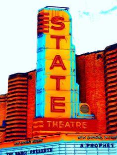 More State Theater Neon, Ann Arbor Michigan