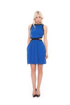 Allison+Collection+Jersey+Peek-A-Boo+in+Cobalt,+$298.00