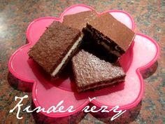 * Kinder řezy (My body revolution) Body Revolution, Nutella, Baking, Food, Squares, Kids, Bobs, Bakken, Essen
