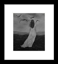 Woman Framed Print featuring the drawing Purity by Faye Anastasopoulou Bison Pictures, White Bison, Hope Symbol, Ocean Scenes, Native American History, Frame Shop, Framed Art Prints, Fine Art America, Original Art