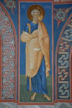Александр Деркачёв Byzantine Icons, Byzantine Art, Religious Images, Religious Art, Fortune Cards, Orthodox Icons, Sacred Art, Christian Art, Painting