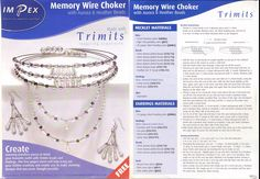 Memory wire Necklet
