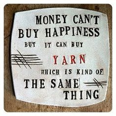 Love this funny #knitting quote!