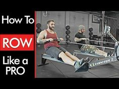 Rowing Machine : TECHNIQUE and BENEFITS - YouTube