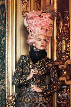 Voguejapan, October 2012, Japan October, Mary Antoinette, Ymre Stiekema, Giampaolo Sgura, Anna Dello Russo, Vogue Japan, Anna The Russian