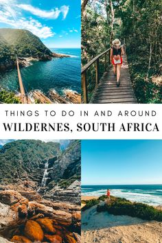 Wilderness in South Africa has so much to offer and as it forms part of the beautiful Garden route, there are many day trips you can do. From relaxing on the beach to hiking through lush forests, Wilderness has so much to offer. South African Holidays, Stuff To Do, Things To Do, Africa Travel, Forests, Day Trips, Beautiful Gardens, Wilderness, Lush