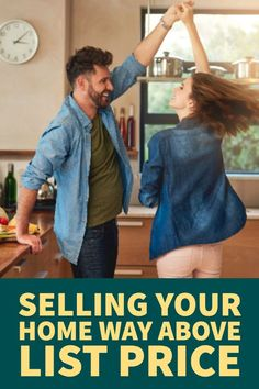 Get Top-Dollar: Selling Your Home Way Above List Price Selling Home By Owner, Home Selling Tips, Selling Your House, Online Mortgage, Landscaping Around House, Sell Your House Fast, Moving Tips, Real Estate Tips, Price List
