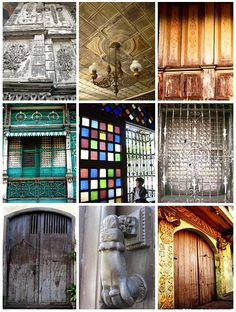 """Capiz windows/ handcrafted doors in the Philippines. BBC Boracay says: """" Capiz on Panay is called """" The seafood capital of the Philippines."""" Capiz shells are used to make windows. Almost all antique houses in the Phillipnes have Capiz shell windows. Filipino House, Filipino Art, Filipino Culture, Filipino Architecture, Philippine Architecture, Art And Architecture, Different House Styles, Philippine Houses, Colonial Mansion"""