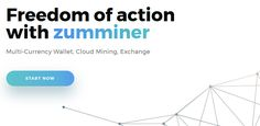 Zumminer – The All-In-One Wallet of the Future  #ZumMiner #WebWallet #CryptoWallet #CloudMining #Exchange #Crypto #CryptoCurrency #MiningFarm #Ethereum #DASH #ZCash #MiningGarddware #Review