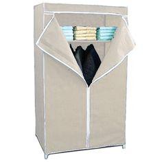 Birlea Lynx 2 Door Combi Wardrobe, Black & White, High Gloss   Home Discount Garment Racks, Lynx, Wardrobes, High Gloss, Doors, Black And White, Closets, Puertas, Blanco Y Negro