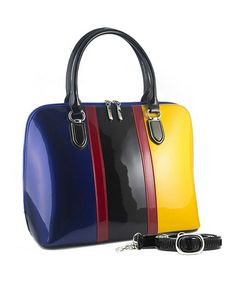 This Blue & Yellow Anuta Tote is perfect! #zulilyfinds