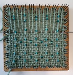 Adventures in Pin Loom Weaving–Beads (again) Pin Weaving, Loom Weaving, Samsung Camera, Weaving Textiles, Yarn Projects, Loom Knitting, Arts And Crafts, Blog, Pictures