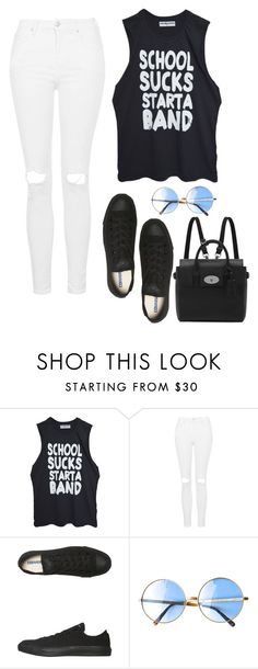 LET'S START A BAND!!! by angel534 on Polyvore featuring High Heels Suicide, Topshop, Converse, Mulberry, women's clothing, women's fashion, women, female, woman and misses