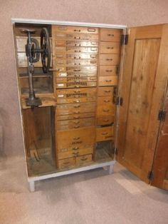 Fab work station drawers for sale on ebay - This is the most amazing cabinet, I would love to have it.