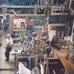 """Armando Villegas, """"El taller"""", 2008. In: 'algargosarte'."""