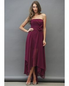 Maid of Honor Dress Jim Hjelm Occasions,  /Cranberry Bridesmaid Dresses - Martha Stewart Weddings Fashion & Beauty