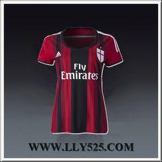Bas Femme Maillot de foot 2014 2015 AC Milan Domicile Cristiano du www.lly525.com