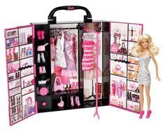 Amazon.com : Barbie Fashionista Ultimate Closet : Fashion Doll Accessories : Toys & Games