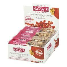 Taste of Nature Exotics Organic Food Bars - Persian Pomegranate Garden $33.99 - from Well.ca
