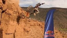 Red Bull Rampage Top 5 Crashes, via YouTube.