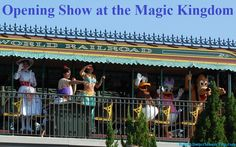 Disney World Tips & Secrets - Did you know that you can see lot of Disney characters on the train in the Magic Kingdom Opening Show at Disney World, which occurs daily about 15 minutes prior to park opening.  45 Great Disney World Freebies & Free Disney World focused e-Newsletter: http://www.buildabettermousetrip.com/disney-freebies/