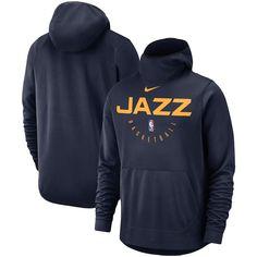c430398d Utah Jazz Nike Spotlight Performance Pullover Hoodie – Navy