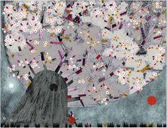 Nathalie Minne - illustrations - albums jeunesse - mon blog - le petit voleur de mots - le petit ro