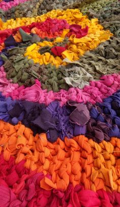 Image result for knitted rag rugs
