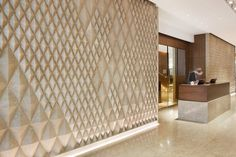 g-lux (stone installation)- The Sheraton Melbourne by Hecker Gutherie