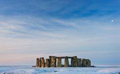 Stonehenge - Winter Snow