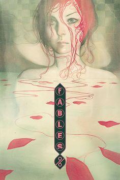 Fables 96 - art by Joao Ruas