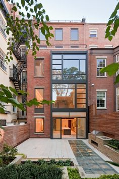 Greenwich Village townhouse.