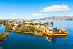 Lake Titicaca - Bolivia and Peru Bolivia Travel, Peru Travel, Lakeside Hotel, Best Boats, Boat Tours, Places Around The World, World Heritage Sites, South America, Fun Activities