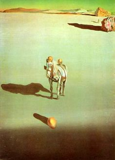Dali - Geological Destiny, 1933