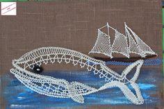 Bobbin Lacemaking, Bobbin Lace Patterns, Lace Heart, Lace Jewelry, Lace Making, Sea Creatures, Lace Detail, Crochet, Macrame