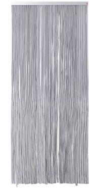 Cortina de puerta CINTAS NEGRO - Leroy Merlin