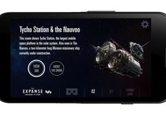 Syfy has created a 360-degree VR app for fans to explore the spaceships and space stations of 'The Expanse' TV series.