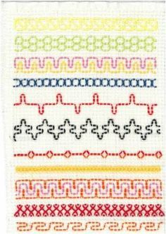 Resultado de imagem para vohvelikirjonta malleja Swedish Embroidery, Types Of Embroidery, Beaded Embroidery, Embroidery Stitches, Free Swedish Weaving Patterns, Knitting Patterns, Quilt Stitching, Cross Stitching, Sewing Crafts