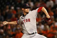 BALTIMORE, MD - SEPTEMBER 21: Starter Clay Buchholz #11 of the Boston Red Sox…