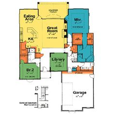 nice floor plan 1500 square foot country house plans ohio - Google ...